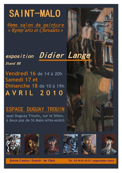 Salon peinture St.Malo-Didier LANGE